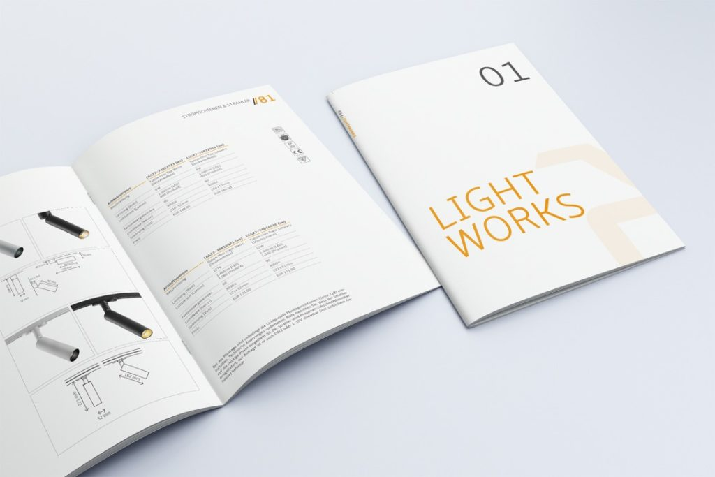 Lichtprojekt Produktkatalog
