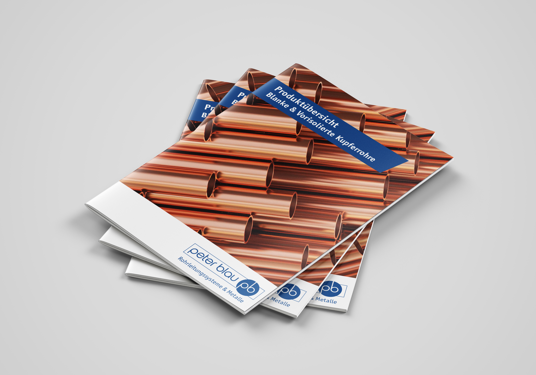 Produktfolder Peter Blau GmbH