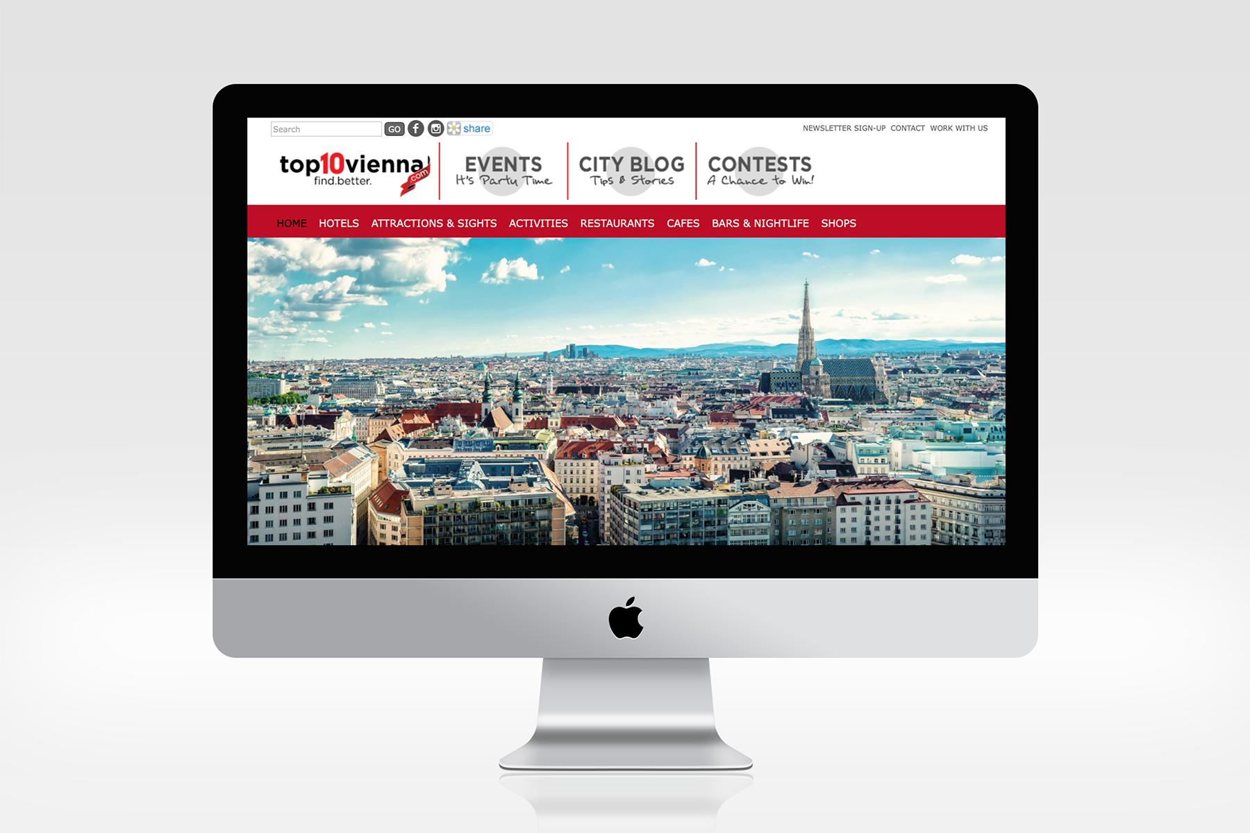 Projektleitung Top10 Vienna